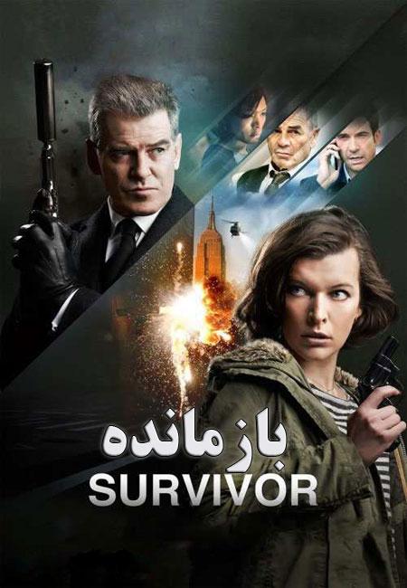 دانلود فیلم بازمانده دوبله فارسی Survivor 2015
