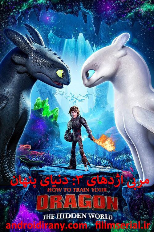 دانلود دوبله فارسی انیمیشن How to Train Your Dragon The Hidden World 2019