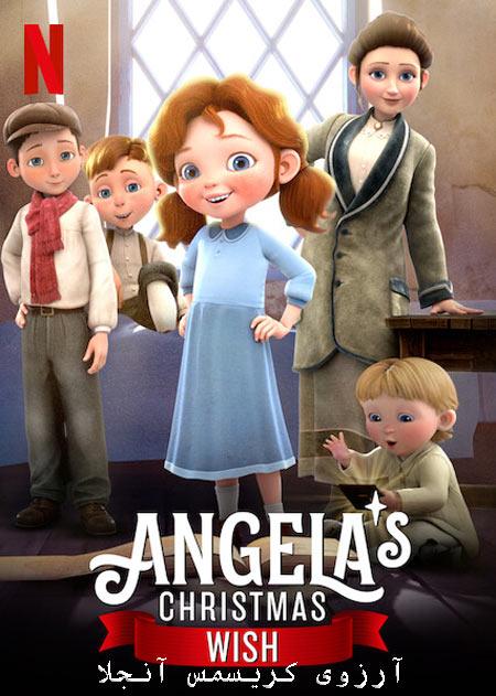 دانلود انیمیشن آرزوی کریسمس آنجلا دوبله فارسی Angela's Christmas Wish 2020