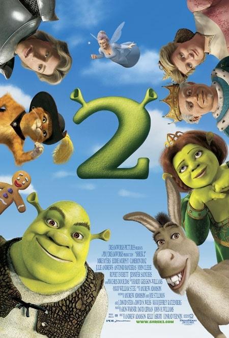 دانلود انیمیشن شرک 2 دوبله فارسی Shrek 2 2004