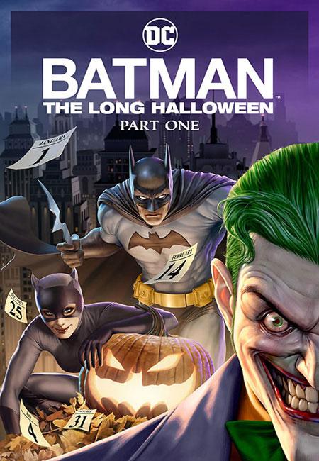 دانلود انیمیشن بتمن: هالووین طولانی بخش اول دوبله فارسی Batman: The Long Halloween, Part One 2021