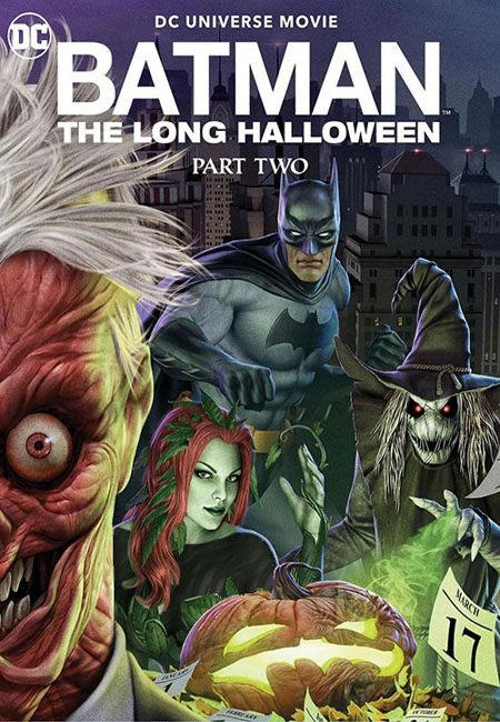 دانلود انیمیشن بتمن هالووین طولانی: بخش دوم Batman: The Long Halloween, Part Two 2021